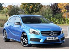 Used 2014 (64 reg) Blue Mercedes-Benz A Class AMG Sport for sale on RAC Cars