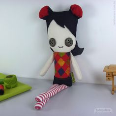 Moniere. Toy art by ladoludens (Mateus Andrade & Alessandra Marques).