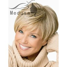 Short Hairstyles Wigs For Women Over 50 likewise Short Pixie Cut Wigs ...
