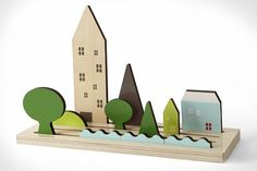 Landscapes, Shusha #woodentoys #toys
