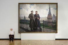 Gerimasov: Stalin and Vorosilov in the Kreml - Andy Freeberg