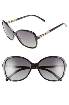 Burberry58mm Sunglasses. available at #Nordstrom