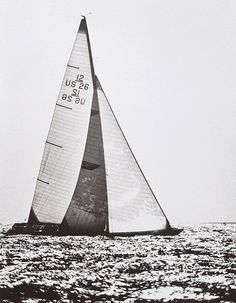 An old America's Cup 12 square meter. Such awesome boats