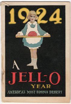 Vintage Jello Ad, 1924