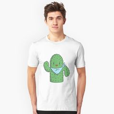 Cactus Shirt, Tshirt Colors, Wardrobe Staples, Female Models, Classic T Shirts, Mens Fashion, Fashion Tips, Tees, Fabric