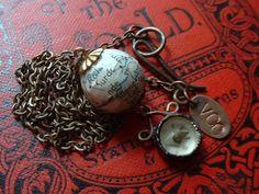 Antique Compass Necklace