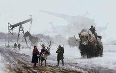 tundra wars, steampunk