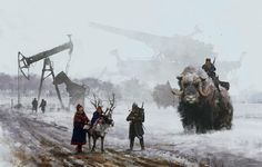 tundra wars, steampunk