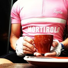 pink is only dope with Rapha jersey