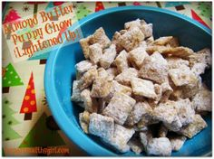 puppy chow - lightened up
