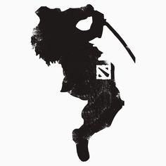 'Dota 2 Shirts: I am a (DOTA) gamer. Not because I don't have a life, but because I choose to have many! Dota 2 Heroes, Dota Warcraft, Juggernaut Dota 2, Dota Game, Dota 2 Logo, Oni Mask, Dota 2 Wallpaper, Demon Art, Video Game Art