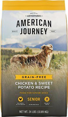 American Journey Chicken Sweet Potato Recipe Grain Free Senior