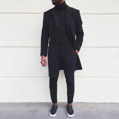 Streetwear Shoes, Streetwear Fashion, Urban Fashion, Mens Fashion, Fashion Vest, Fashion Outfits, Fashion 2020, All Black Outfit, Black Outfits