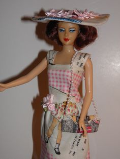 Handmade OOAK Dress for Barbie Like Dolls McCalls by sherimusum, $10.00