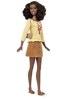 The Evolution of Barbie- tall size doll