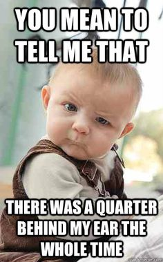 a726d5198475de9df912537f1738f5bb baby memes pinterest marketing skeptical baby meme best of skeptic baby pinterest meme,Skeptical Baby Meme
