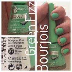 Green Fizz - Bourjois 1 Seconde Polish