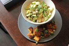 Afrikaanse tofu met couscous