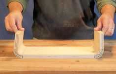 How To: Bending Wood - Part I - There are several methods for forming wood into curves, and the next few blog posts will explore these techniques. We will be looking at simple force bending, kerf bending, lamination and steam bending.