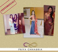 efd6bb60f6d Ashna Pritmani  amp  her mom rocking different looks in Priya Chhabria  designs!  priyachhabria