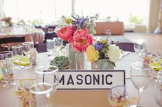 DOUG & CIJI's San Francisco #Wedding From PACO AND BETTY Photography. To see more: http://www.modwedding.com/2013/09/18/doug-cijis-san-francisco-wedding-paco-betty-photography/  #wedding #centerpieces