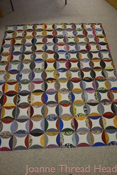 robbing Peter to pay Paul quilt - using Go! cutter dies