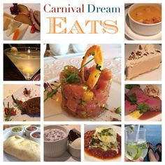 Carnival Dream - Cruise Ship Eats