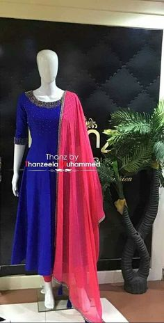 New Fashion Outfits Skirts Colour Ideas Kurta Designs Women, Kurti Neck Designs, Salwar Designs, Kalamkari Designs, Choli Designs, Churidhar Designs, Indian Gowns Dresses, Pakistani Dresses, Long Dress Design