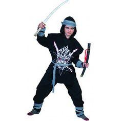 Kostuum Ninja Zombie - De Kaborij - Carnavals & Feestkleding € 27.99