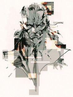 Ocelot by Yoji Shinkawa