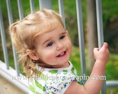 Photo of an adorable little girl.
