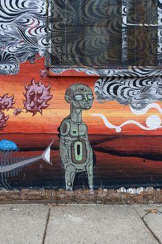 Doze Green - Cincinnati graffiti
