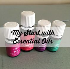 My Start with Essential Oils