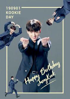Happy birthday 🎉 my kookie! Jung Kook, Bts Jungkook, Dance Music, Bts Happy Birthday, Magic Birthday, Bts Boyfriend, Seokjin, Namjoon, Bts Wallpapers
