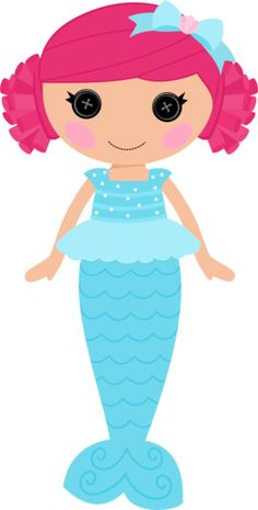Wow...just sittin here, adoring this cute n adorable Mermaid!!!  I LOVE MERMAIDS!!!