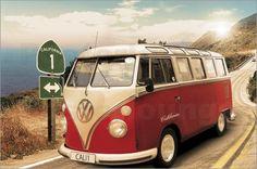 """Bild von Californian Camper - """"route one"""""""