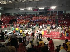 At my first high school robotics competition last week I noticed 10 glaring differences with sports. I'll never think about either one the same way again.