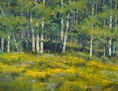 Natures Garden by Robert Rohm Oil ~ 24 x 30