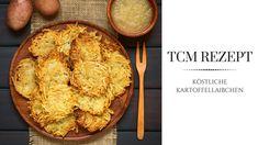 Kartoffellaibchen mit exotischem Karottengemüse und Champignonsauce - köstlich und gesund. Lies hier, wie du sie zubereitest und wie die Zutaten nach der TCM genau wirken. Ayurveda, Mashed Potatoes, Cauliflower, Muffin, Health Fitness, Bread, Vegetables, Breakfast, Ethnic Recipes