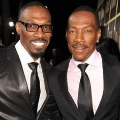 Charlie & Eddie Murphy - Charlie tells some funny stories too, especially in reference to Rick James.