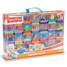 New Fisher Price Peek A Blocks Complete Set Alphabet Block Letters | eBay