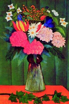 Henri Rousseau - né en 1844 - art naïf Quão feliz,fico ao ver uma obra tão bela, sui generis,shalom!