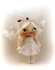 sweet blonde Angel Fairy cloth doll by suziehayward on Etsy, $64.00