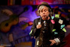 #PaoloRossi al Teatro di Pergine con il suo Arlecchino @visitvalsugana