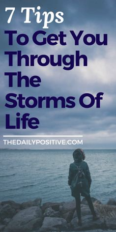 """""""Storms"""" are a part of life. They are dark, loud, intrusive, and often ruin our plans. Some storms are unavoidable — others are the direct result of our free will. Regardless of the reasons, storms are wet, messy, and muddy. But our biggest problem isn't the storms. It's how we respond to them."""