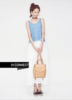 Yoona - H:Connect Summer 2016 Japanese Fashion, Asian Fashion, South Korean Girls, Korean Girl Groups, Snsd Fashion, Yoona Snsd, Korean Model, Korean Style, Girls 4