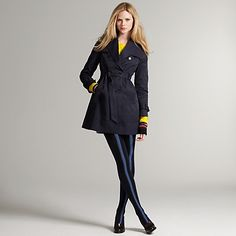 Classic trench, tailored to perfection