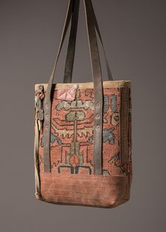 Antique Carpet Mini Tote – J AUGUR DESIGN