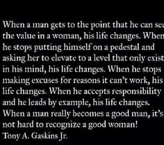 What is a good man?