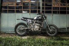 "HONDA Dominator Scrambler ""Madunassa"" by Anvil Motociclette."